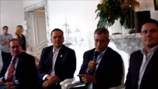 Gobernadores de 5 estados acuerdan con Sandoval crear policía interestatal.wmv