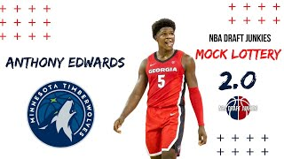 2020 NBA Mock Draft 2.0 Lottery Edition
