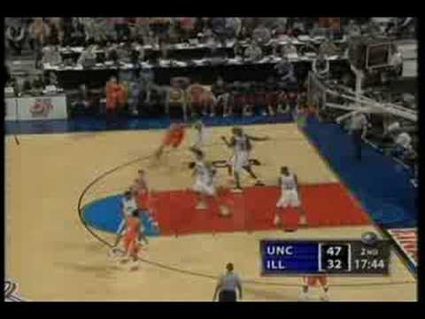 2005 NCAA Mens Basketball Championship Game Higlights