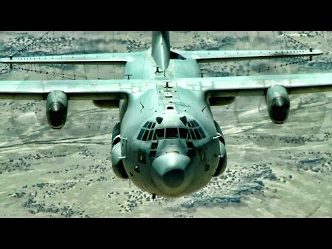 EC-130H Compass Call Airborne Tactical Weapons System Aerial