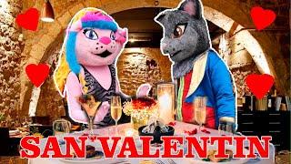 La Cita de Kimy La Gatita - San Valentin TERMINA MAL  / El Club Kimy y Tato