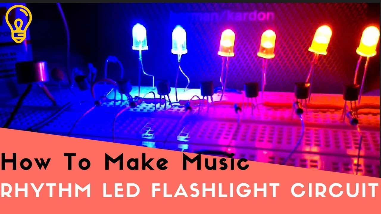 How To Make A Music Rhythm Led Flashlight Circuit Youtube Simple 10 Chaser With Cd4017 Schematic Circuits Elektropagecom
