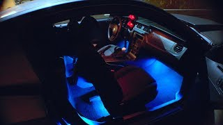 EASY LED CAR INTERIOR LIGHTS FOR ONLY $12!!!