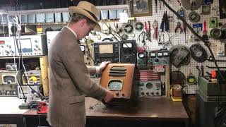 Lets Fix This 1937 Howard Tube Radio!