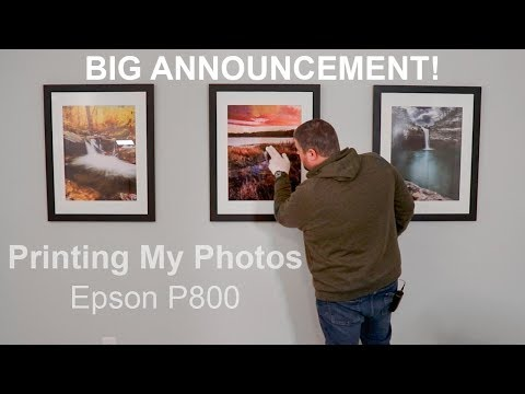 Printing & Framing My Landscape Photography | Fine Art Gallery Wall
