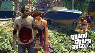 ZOMBIES LAST OF US GTA 5