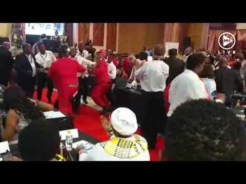 EFF members kicked out of Limpopo's State of the Province address after scuffle broke out