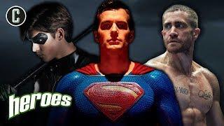 New DC Slate: The Batman, Superman, Nightwing? - Heroes