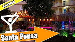 Santa Ponsa Majorca Spain: Evening and nightlife