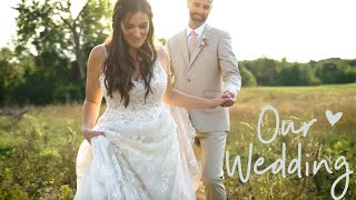 OUR WEDDING VIDEO | Backyard Wedding 2020 | Sarah Brithinee