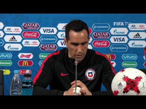 POR v CHI - Claudio Bravo - Chile Post-Match Press Conference