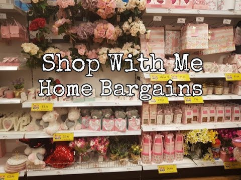 Home Bargains - Shop with me - Inc Mothers day ideas