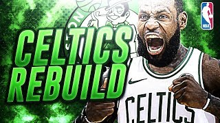 Lebron James Signing With Boston! Kyrie Irving Getting Traded! Boston Celtics Rebuild