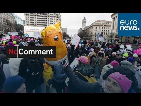 شاهد: حركة احتجاجية نسائية ضد ترامب تجدد ظهورها في واشنطن…  - نشر قبل 1 ساعة