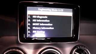 A Class CLA GLA MB Engineering Mode How To