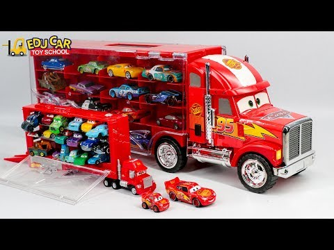 Thumbnail: Learning Color Special Disney Pixar Cars Mini Lightning McQueen Mack Truck for kids car toys