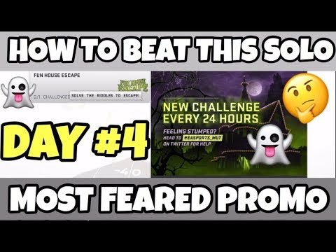 HOW TO BEAT THE FUN HOUSE ESCAPE SOLO  DAY 4  MADDEN 19 ULTIMATE TEAM