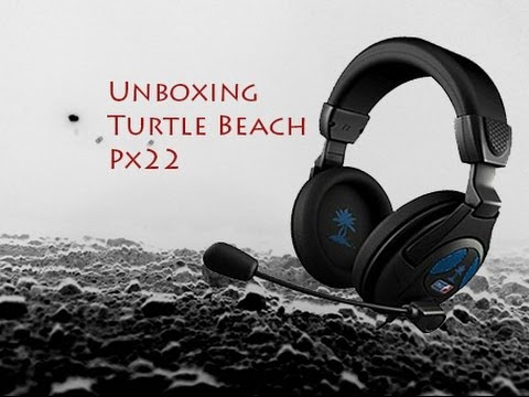 unboxing turtle beach px22 casque ps4 fr youtube. Black Bedroom Furniture Sets. Home Design Ideas