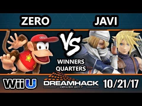DHDEN17 Smash 4 - TSM | Zero (Diddy) Vs. Javi (Cloud, Sheik) - Wii U Singles WQF