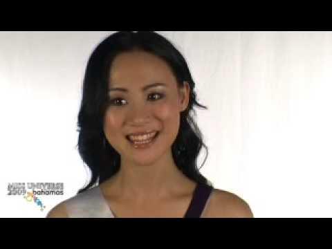 Miss china Universe 2009 Interview