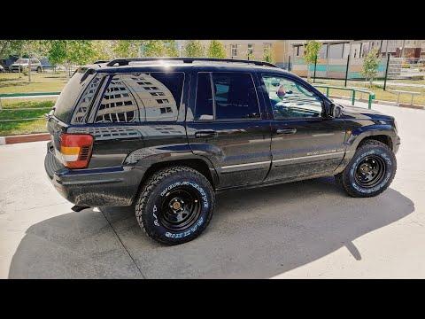 "Jeep Grand Cherokee WJ ""Black Pearl"" Обзор, тест-драйв"