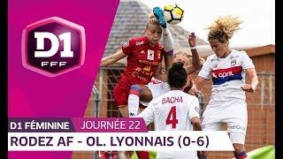 J22 : Rodez AF - Olympique Lyonnais (0-6), le résumé
