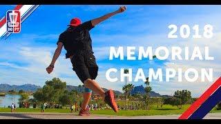 2018 Memorial Champion: Simon Lizotte