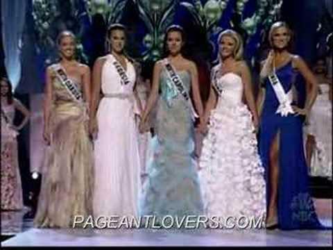 Miss Teen USA 2006 Farewell Walk&Crowning