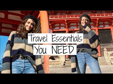 Travel Essentials You NEED | Jessica Clements