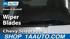 How To Replace Wiper Blades 07-13 Chevy Silverado