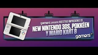 GamersDLC - Nuestras opiniones de New Nintendo 3DS, Pokkéen y Mario Kart 8