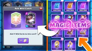 "Brand New ""Magic Items"" Explained!! New Update & 13 Balance Changes!! Clash Royale Balance Update"