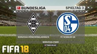 ⚽ FIFA 19 Bundesliga Borussia Mönchengladbach : FC Schalke 04 🏆 Gameplay Deutsch Livestream
