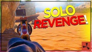 SOLO Counter-Raid REVENGE! (SOLO VANILLA RUST #3 S21)