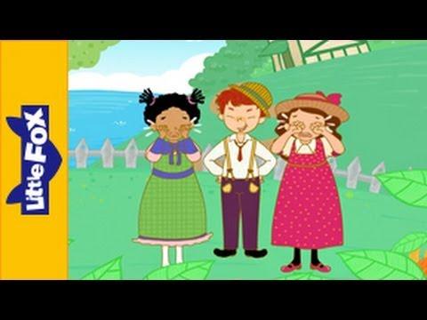 Georgie Porgie | Nursery Rhymes By Little Fox