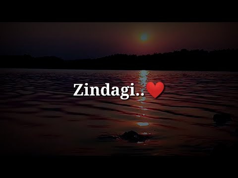 Zindagi ❤ Very Sad Heart Touching Shayari ❤ Sad Hindi Shayari