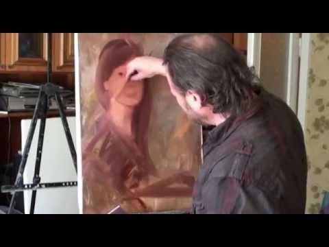 Живопись маслом портрет видео уроки игоря сахарова новые