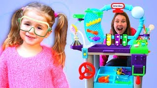 Ruby & Bonnie Pretend Play with Science Learning Toy For Kids