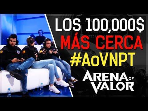MÁS CERCA DE GANAR $100,000 | Entrenando para el #AoVNPT | Arena of Valor