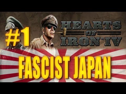 FASCIST JAPAN - Hearts of Iron IV Gameplay #1