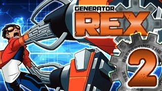 Generator Rex: Agent of Providence Walkthrough Part 2 (PS3, X360, Wii) 100% Level 2: Jungle