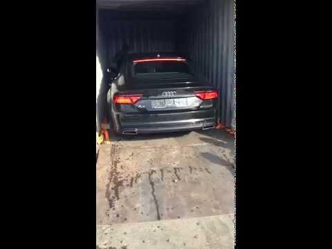 Перевозка автомобиля в контейнере 1
