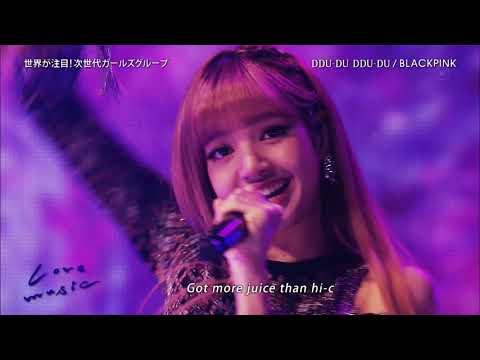 1810220030 BLACKPINK DDU-DU DDU-Du on Japan TV show
