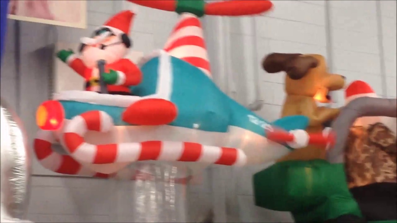 The full walmart usa christmas garden inflatable range