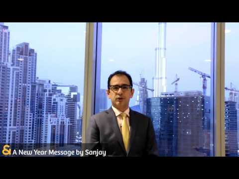 Sanjay Chimnani's - New Year Message & Dubai Real Estate Market Trends