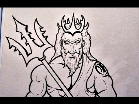Drawing Poseidon Youtube
