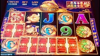 5 TREASURES MAX BET BONUS AFTER BONUS AFTER BONUS $8.80 BETS ONLY