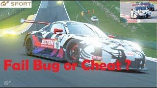 GT Sport Cheat Bug or Fail 1 Year Gran Turismo Sport #porsche #gtsport #cheat