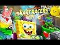 Teenage Mutant Ninja Turtles Cartoon Racing Cars Game Videos for Kids - Nickelodeon Kart Racers #2