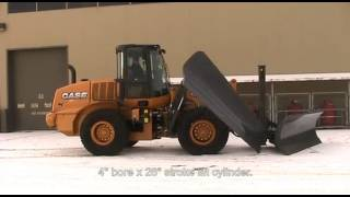 Craig Manufacturing - Case 621F with 0600 Series Reversible Plow and 301 Trip Edge Wing